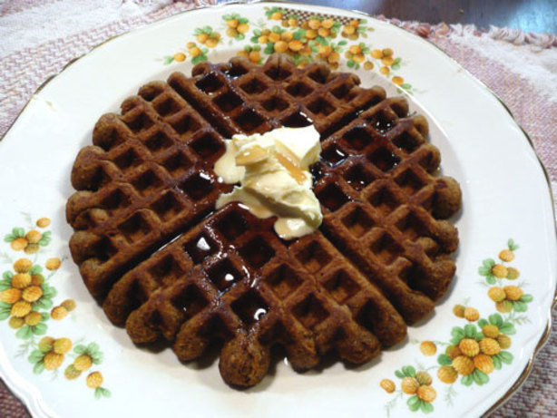 Gingerbread Waffles Recipe - Food.com