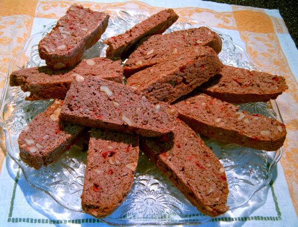 CHocolate) Cherry Pecan Biscotti Recipe - Italian.Food.com