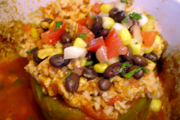 Southwest Stuffed Bell Peppers Recipe - Food.com