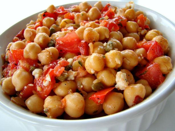 Chickpea Salad With Cumin Vinaigrette Recipe - Food.com