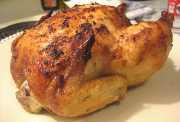 Kittencals Best Blasted Rapid-Roast Whole Chicken Recipe ... Whole Roasted Chicken Recipe