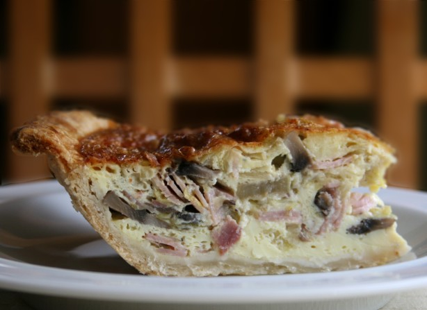 Leek, Ham And Mushroom Quiche Recipe - Food.com