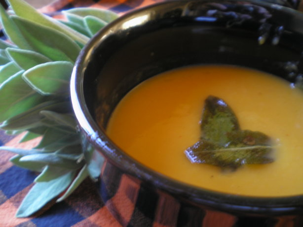 Butternut Squash Soup With Sage Recipe - Food.com
