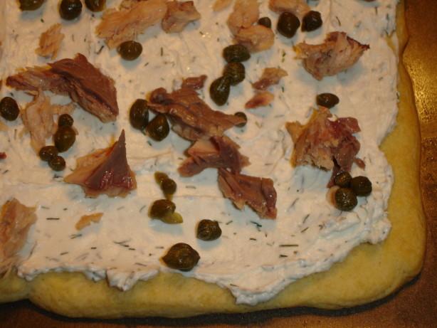 Vita Food Products - Cold Smoked Salmon Pizza