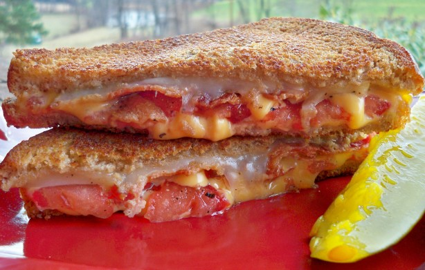 Bacon And Tomato Grilled Cheese Sandwich Recipe - Food.com