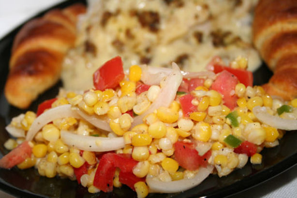 Grilled Corn-Sweet Onion Salad Recipe - Food.com