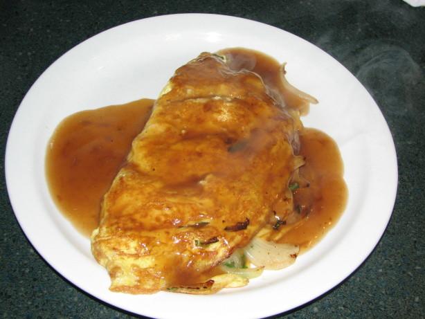 chinese shrimp omelette recipe