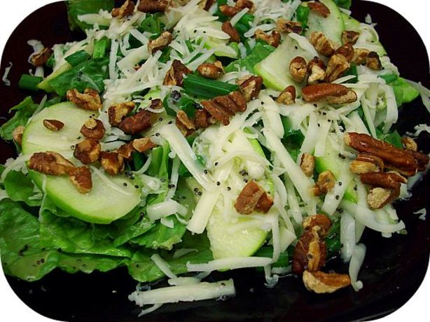 ... Toasted Pecan Salad With Honey Poppy Seed Dressing Recipe - Food.com