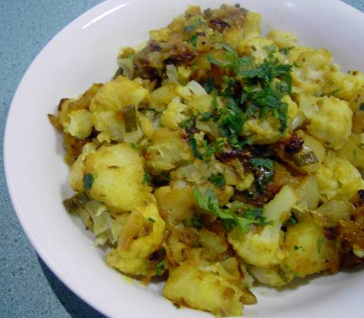 Aloo GobiPotato And Cauliflower Curry. RecipeFood.com