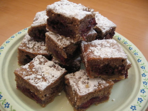 Fresh Blackberry Bars Recipe Dessert
