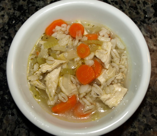Chicken Barley Soup Recipe - Food.com