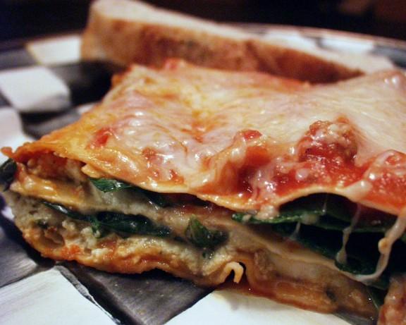 Quick And Easy Vegetarian Lasagna Recipe Food Com