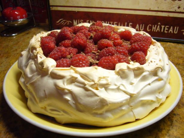 Raspberry Cream Pavlova Recipe - Food.com