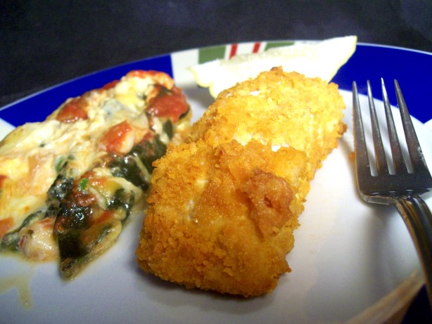 Baked parmesan crusted salmon recipe for Parmesan crusted fish