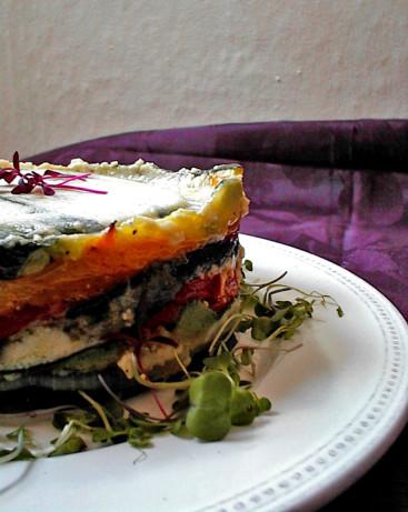 Ina gartens roasted vegetable torte barefoot contessa - Ina garten make it ahead ...