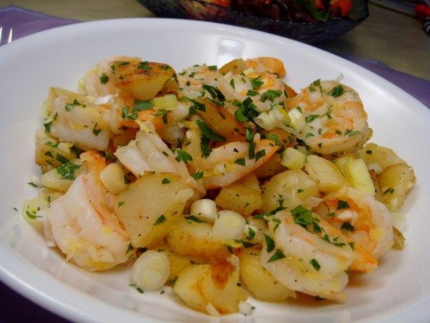 Potatoes Sauteed With Shrimp Recipe - Food.com
