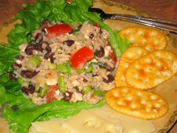 Rice, Black Bean And Feta Salad Recipe - Food.com