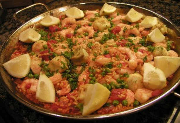 Spanish paella recipe for Cuisine in spanish