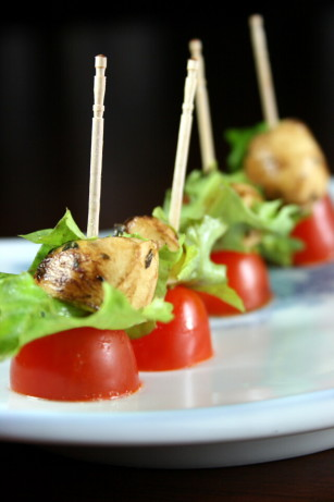 Tomato And Marinated Baby Bocconcini Appetizers Recipe