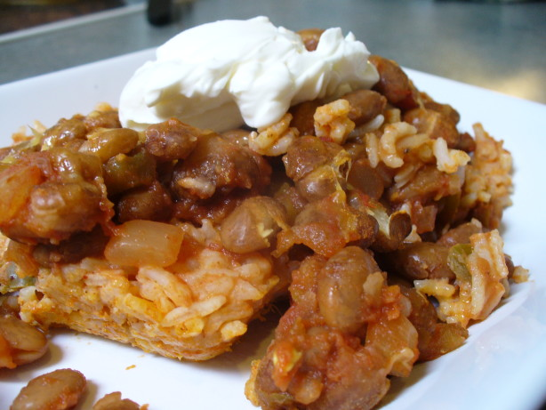 Simple Mexican Rice And Bean Bake Recipe - Food.com