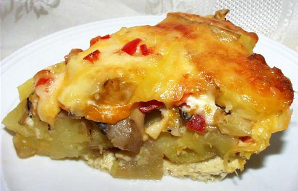 Swiss Potato And Mushroom Pie Recipe - Food.com