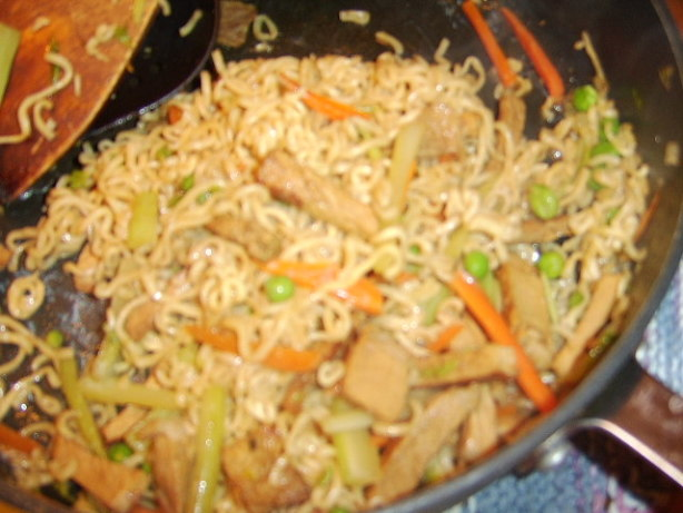 food ramen recipe network Vegetable Lo Recipe Pork Mein Food.com   And