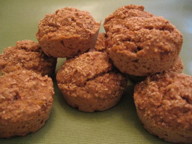 Fat-Free Peach Bran Muffins Recipe - Food.com