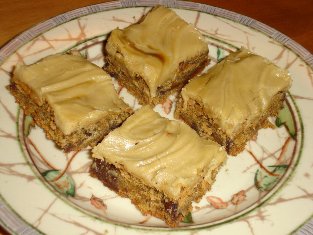 Blonde Brownies Recipe Food Com