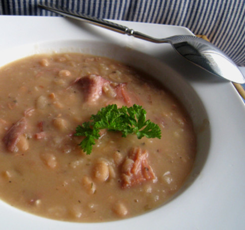 Chunky Navy Bean Soup Recipe - Food.com