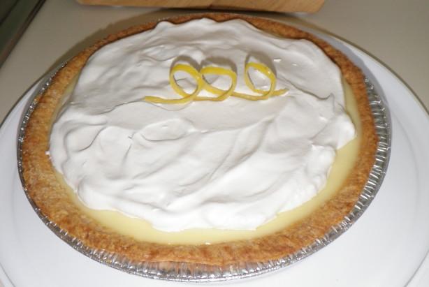 Lemon-Sour Cream Pie Recipe - Food.com