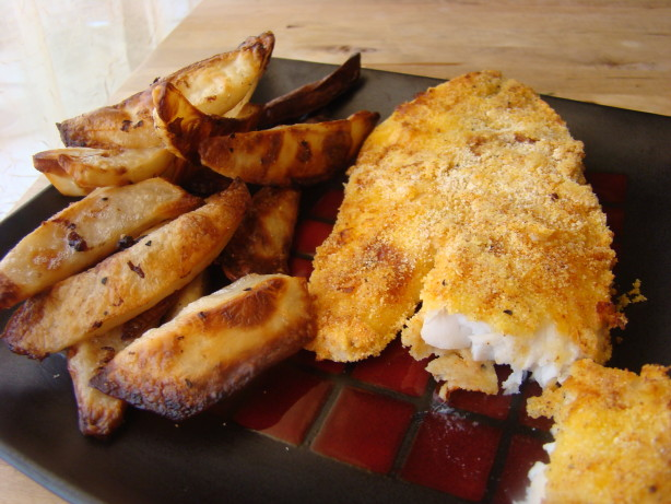 Ww fish and chips recipe for Fish chips recipe