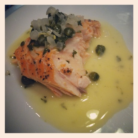 salmon with lemon butter caper sauce recipe