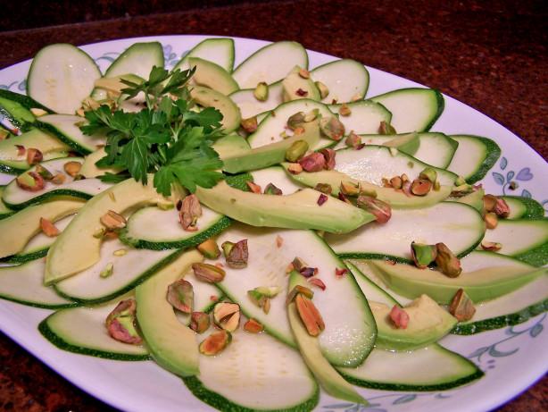 Zucchini Carpaccio With Avocado Recipe - Food.com