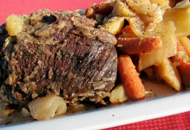 Slow Cooker Pot Roast Recipe - Food.com