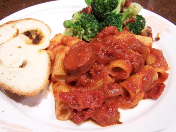 Spicy Chorizo Penne Pasta Recipe - Food.com