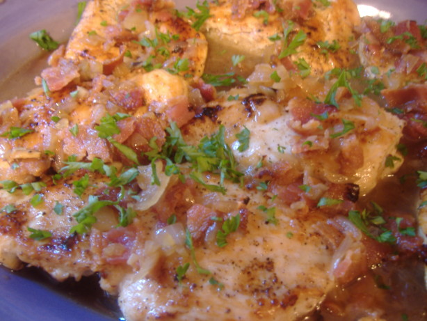 sauce dressing chicken with cider and bacon chicken with cider bacon ...