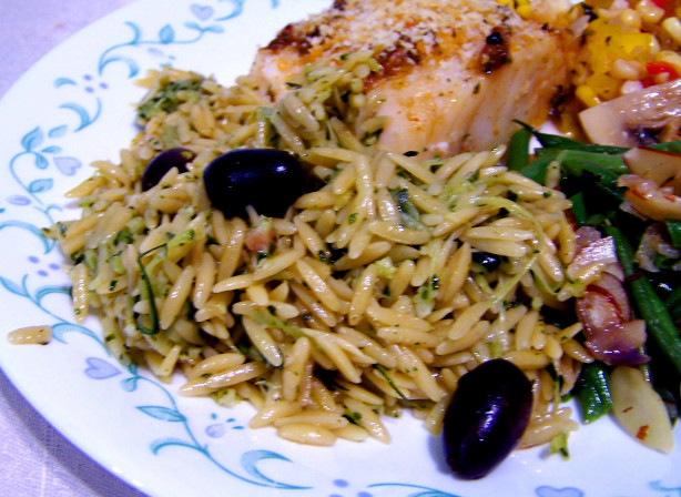 Zucchini And Orzo Salad Recipe - Food.com