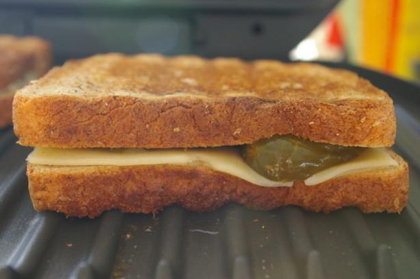 Grilled Cheese, Pickle And Vidalia Onion Sandwich Recipe ...