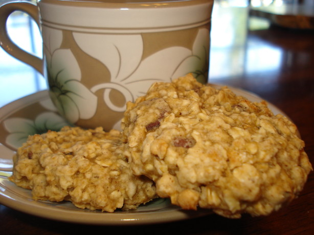 Low Fat Chewy Chocolate Chip Oatmeal Cookies Recipe — Dishmaps