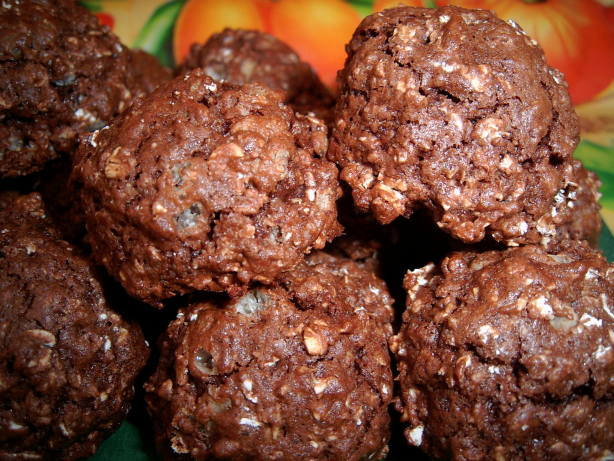Crunchy Chocolate Cookies Recipe - Food.com