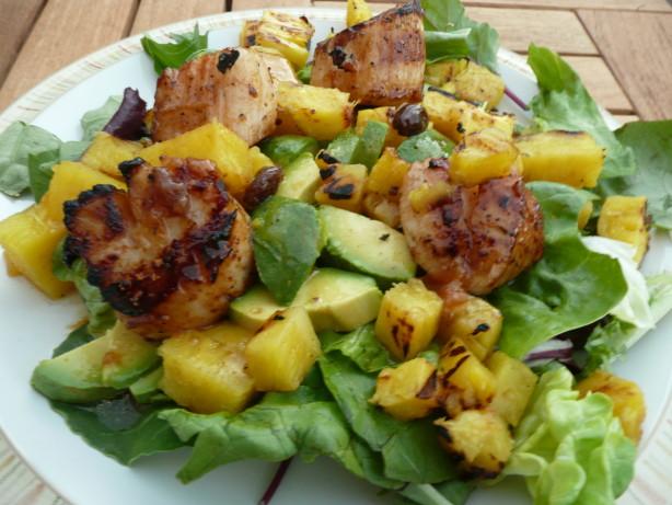Caribbean Grilled Scallop Salad Recipe Food Com