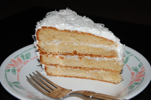 Alton Browns Coconut Cake With 7 Minute Frosting Recipe ...