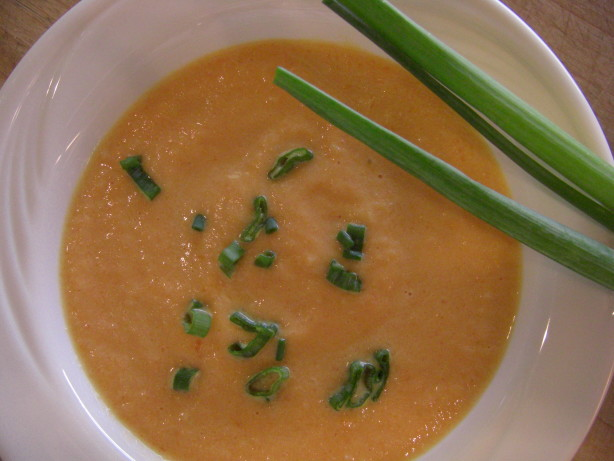 creamy carrot and sweet potato soup recipe yummly cream creamy carrot ...