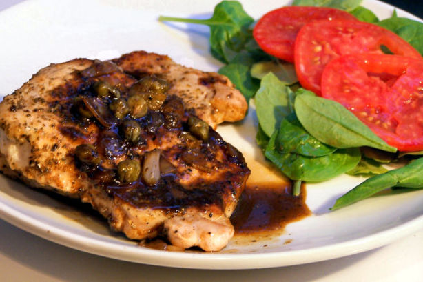 Pork Chops With Maple Mustard Sauce Recipe - Food.com