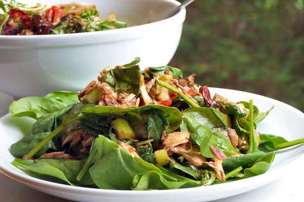 Rotisserie Vinaigrette Chicken Salad Recipe Food Com