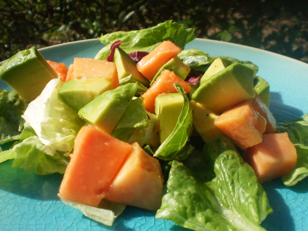 Simple Papaya Avocado Salad Recipe Food Com