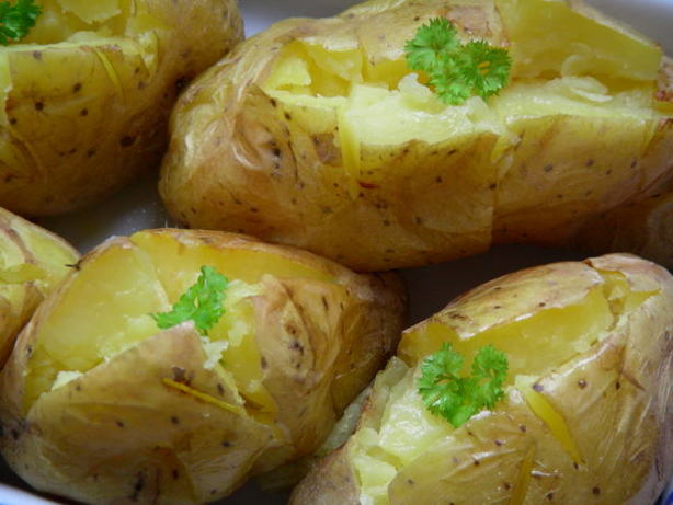 how to cook potatoes in oven without foil