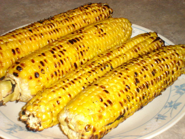 Simple Grilled Corn On The Cob Recipe - Food.com