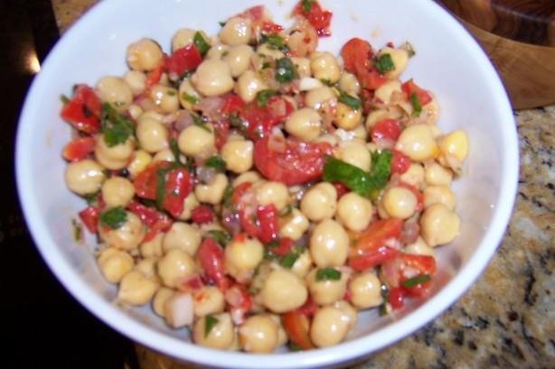 Mediterranean Chickpea Salad Recipe - Food.com