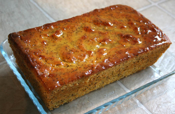Orange Poppy Seed Bread Recipe Food Com